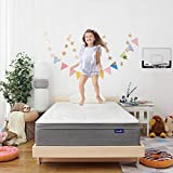 Sweetnight 10 Inch Full Size Mattress In a Box - Sleep Cooler with Euro Pillow Top Gel Memory Foam, Individually Pocket Spring Hybrid Mattresses for Motion Isolation,CertiPUR-US Certified