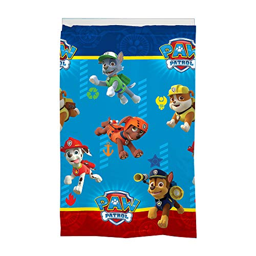 "Franco MU5678 Kids Room Darkening Window Curtain Panel, 42"" x 63"", Paw Patrol"