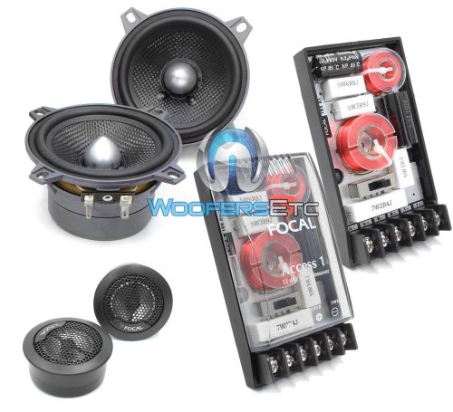 "100A1 SG - Focal 4"" 2-Way Component Speakers System"