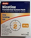 Rugby Nicotine Transdermal System Opaque Patch Step 2 Stop Smoking Aid...