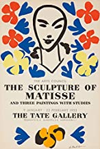 The Sculpture of Matisse - Tate Gallery Vintage Poster (artist: Matisse) France c. 1953 (9x12 Art Print, Wall Decor Travel Poster)