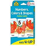 Numbers, Colors, and Shapes: Puzzle Cards
