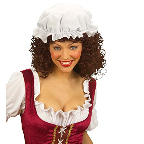 NET TOYS Mittelalter Schlafhaube Nachthaube Haube Schlafmütze Schlaf Nacht Mütze Karneval Fasching Kopfbedeckung