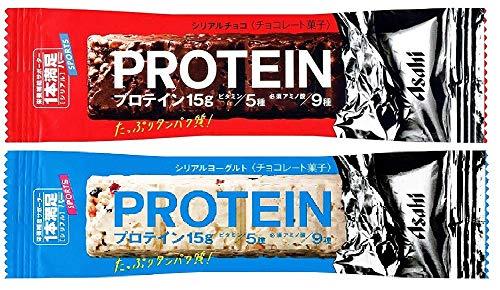 アサヒグループ食品 1本満足バープロテインチョコ&ヨーグルト セット (72本(チョコ36本/ヨーグルト36本))