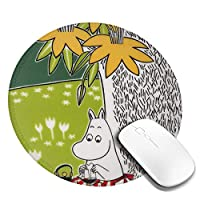 マウスパッド ムーミン リストレスト 手首クッション ゲーム ミニサイズ サイズ マウス パッドおしゃれ オフィス用 洗える 滑り止め 人間工学 疲労軽減 ファッション 防水 お洒落 Pc作業 ゲーミング 一体型 耐久性が良い 一个