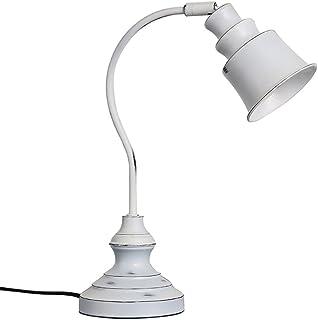 YONGJUN Retro Lampe Der Industriellen Weinleseart, Leselampe, Studien-   Büro-   Nachttischlampe, Weiß (Ausgabe   Gelbes Licht) B07B8NRJJP  Ruf zuerst