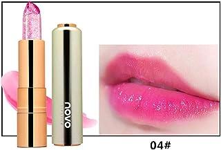 Kimyuo 新しい到着化粧口紅保湿剤透明マジック温度花の色長持ちリップスティックリップ
