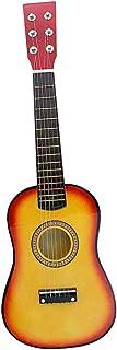 kesoto Wooden 23inch 6-String Acoustic Guitar for Children Music Educational Toys Birthday Gift - Sunset
