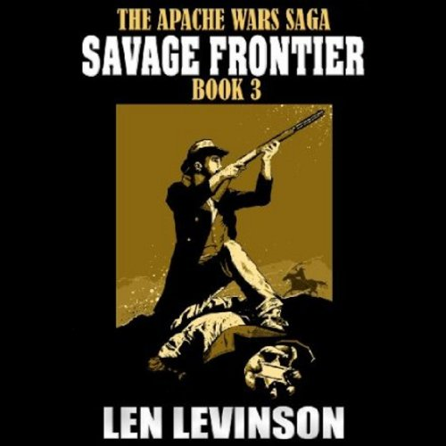 Savage Frontier audiobook cover art