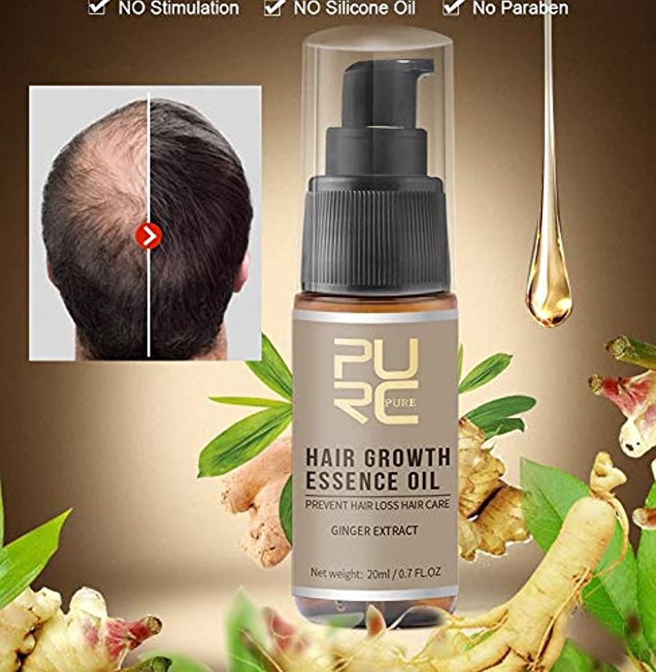 タクシー男やもめ残基(best quality and price) 3 pcs X 20ml PURC Fast Growth and Care Hair Essence OIL perfect hair care for Preventing Hair Loss