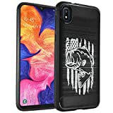CasesOnDeck Case Compatible with Samsung Galaxy A10e (2019) (5.5'), Slim Precise Fit TPU Case, Scratch Protection and Unique Design (Fishing USA Bass)