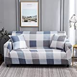Funda de sofá Floral elástica Fundas de sofá elásticas para Sala de Estar Funda sofá Protector de Muebles Fundas sofás con Chaise Longue A25 3 plazas