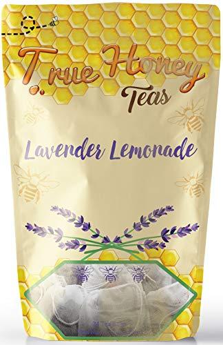 True Honey Tea Bags With Honey Granules, 24 Count (Lavender Lemonade)