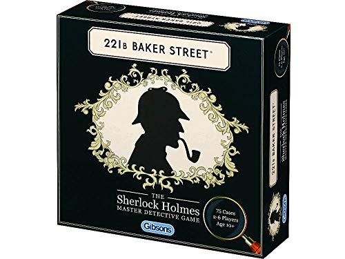 221B Baker Street: The Sherlock Holmes Master Detective Game