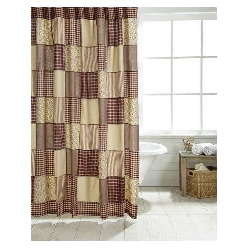 Cheston Patchwork Shower Curtain