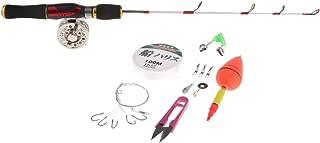 Homyl Winter Ice Fishing Rod and Reel Combo