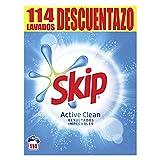 Skip Detergente en Polvo Pack Ahorro Active Clean Promo Descuentazo 114 lavados