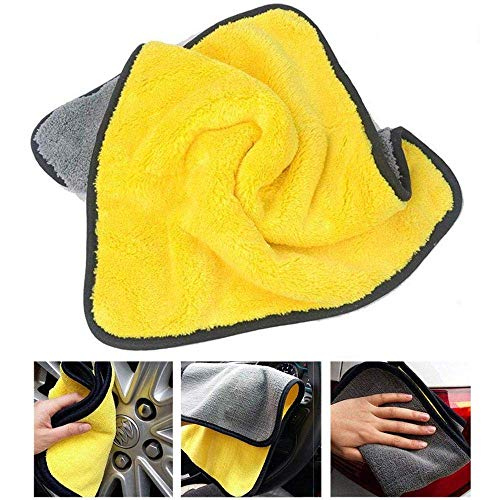 Professional Grade Premium Microfiber Towels Drying Absorber Car Polishing Waxing Cleaning Detailing Cloth 30cm X 40cm E-CHENG Microfiber Cleaning Cloths
