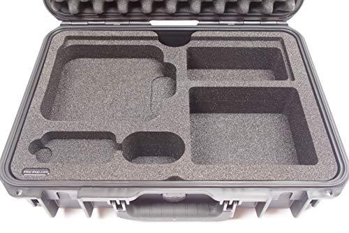 SKB-transportkoffer met op maat gemaakte schuimvulling voor Apple Mac mini, Apple toetsenbord en muis – waterdicht, stofdicht, schokbestendig outdoor-case van kunststof met schuimrubberen inlay