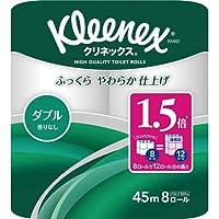 日本製紙クレシア クリネックスコンパクト ダブル45m 8個×4