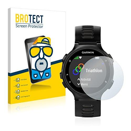 BROTECT 2X Entspiegelungs-Schutzfolie kompatibel mit Garmin Forerunner 735XT Bildschirmschutz-Folie Matt, Anti-Reflex, Anti-Fingerprint