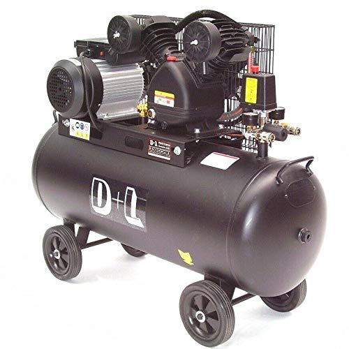 Druckluft Kompressor Kolbenkompressor 44315 V-Zylinder Kessel 100 Liter 10bar AWZ