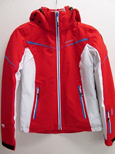 Icepeak nanette ski-jas snowboardjas dames rood wit *UVP 149,99 36