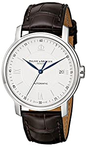Baume & Mercier Men's 8791 Classima Automatic Leather Strap Watch