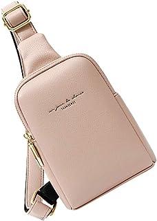 Amosfun fanny for pack women belt bag plus size waist st bags holographic packs patricks bum day party - PU Waist Bag Shou...
