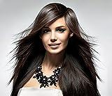 XXL Lujo Collar de declaración | púa de cristal en negro Flores Bisutería de la marca MyBeautyworld24