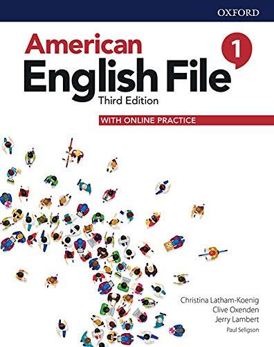 American English File 1 Student Book Pk - 03Edition