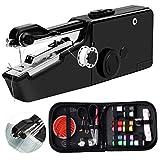 ONESING 47 Pcs Handheld Sewing Machine Portable Sewing Machine Mini Sewing...
