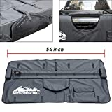 Opechim 54' Truck Tailgate Pad Shuttle Pad 5 Bikes 350Z Vinyl TPSM003 for Middle Large Size Pickup Truck with Tool Bag Heavy duty 600 Denier Fabric with foam padding