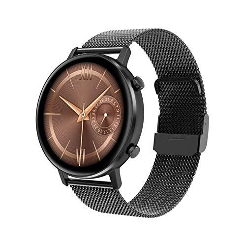 CZX Smart Watch Lady DT96 Smartwatch 360 * 360 Multi-Sport-Fitness Tracker-Puls-Monitor Blutdruck-Sauerstoff,B