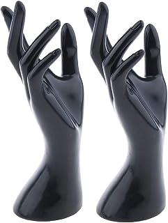 1pc Femme Bijoux /À La Main /À La Main Mannequin Bracelet Anneau Gants Pr/ésentoir Affichage Main Mod/èle Organisateur Bijoux Porte-mod/èle /À La Main Pour Laffichage Blanc