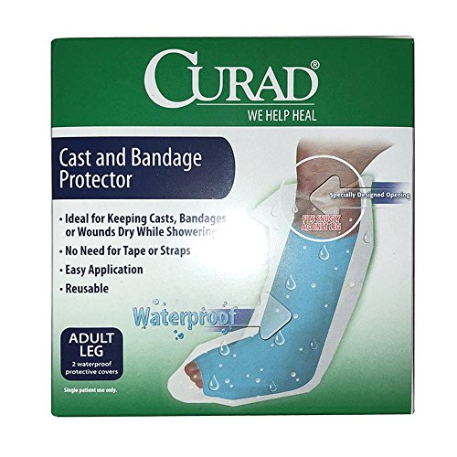 Curad Cast and Bandage Protector Adult Leg 2 Each (Pack of 2)