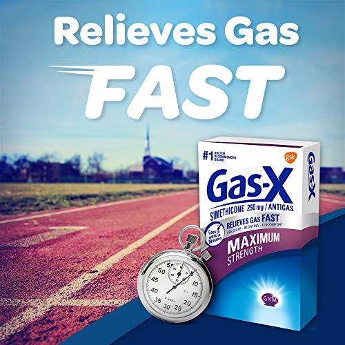 Gas-X Maximum Strength Softgels for Fast Relief from Gas Bloating and Discomfort, Softgels 30.0 Count
