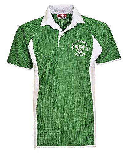 Activewear Maillot de Rugby Irlande Irlande 2018 Grand chelem Winners 6 Nations. Édition limitée. - Vert - Small