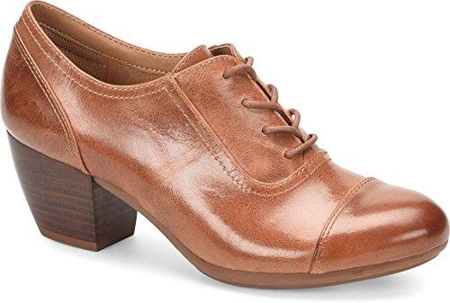 Comfortiva Women's Angelique Luggage Leatheroxfords-Shoes 9.5 B(M) US