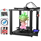 Creality Ender 5 Pro 3D Printer DIY Kit Upgrade with Ultra-Quiet Mother Board All Metal Exturding Unit and Capricorn Tube