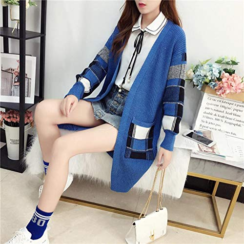 XIAOHU Pullover Women Winter Cardigan Sweater Cashmere Sweater Long Young Fashion Sweater Coat Loose Jacket Sweater