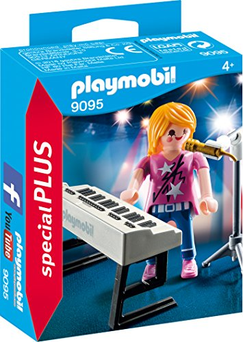 Playmobil 9095 - Sängerin am Keyboard
