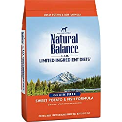 Natural Balance Limited Ingredient Diets Dry Dog Food - High Calorie Dog Food