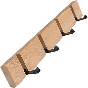 lumenty pared colgador de pared nueva elegante cepillado de acero inoxidable 304/para ba/ño toalla de ba/ño armarios abrigo Robe gancho 1.75inch//4,5/cm 2/Pack