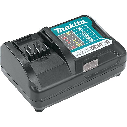 Makita DC10WD CXT Cargador de iones de litio, 12V