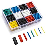 innhom 615pcs Heat Shrink Tubing Heat Shrink Tube Wire Shrink Wrap UL Approved