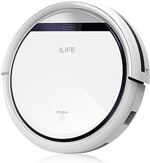 ILIFE アイライフ  V3s Pro ロボット掃除機 ペットの毛に効果 強力吸引 落下防止と衝突防止 静音 自動充電 (ホワイト)