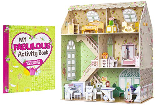 Rose Retreat: My First Dollhouse 3D Puzzle and Book