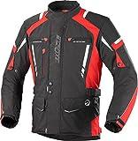 Büse Torino Pro Hombre de moto chaqueta en negro/rojo