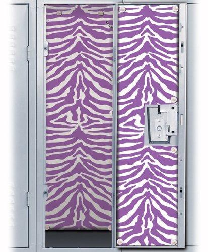 Purple Zebra Locker Wallpaper